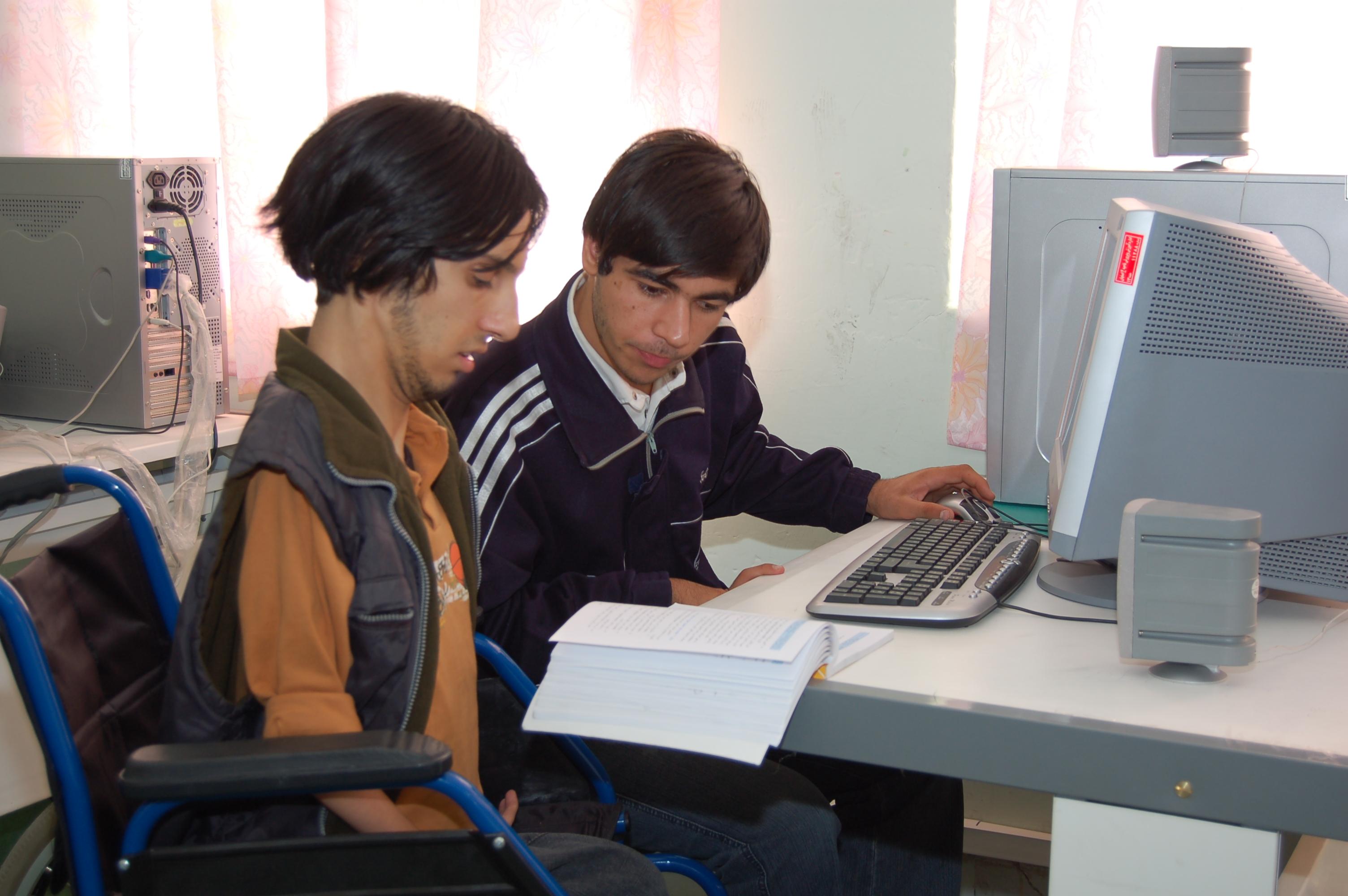 ;کلاس کامپیوتر
